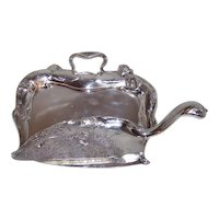 Antique Forbes Silver Company Quadruple #102 Silent Butler