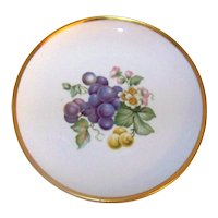 Vintage 1962 Hutschenreuther English Fine China Coupe Luncheon Plates