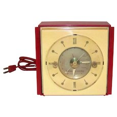 Vintage 1947 General Electric Telechron Tabletop Clock Timer