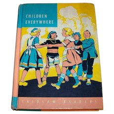 Vintage 1955 The Laidlaw Readers Hardback Book Children Everywhere