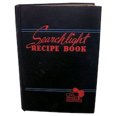 Vintage 1955 Household Searchlight  Recipe Book