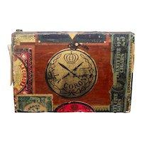 Rare Antique 1912 Wooden La Corona Habana Cuban Cigar Box