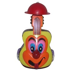 Vintage 1969 Marx Toy Company Marxie Munchie Bunch Guitar Toy