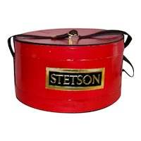 Vintage 1960's Stetson Hat Box