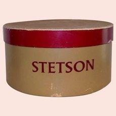 Vintage 1950's Stetson Hat Box