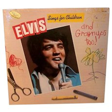Vintage Sealed 1978 Elvis Sings For Children & Adults Too Music Album