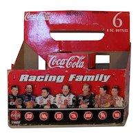 Vintage 1998 NASCAR Commemorative Coca Cola 600 Race Racing Family Six-Pack Bottle Carrier