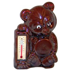 Vintage Ceramic Figural Bear Still Bank