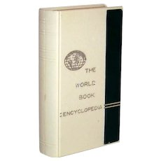 Vintage 1950's World Book Of Encyclopedia Still Bank