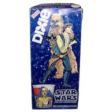 Vintage Star Wars Boxed Dixie Cup Collection