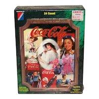 Vintage 1995 Coca-Cola Collect-A-Card Corporation Super Premium Card Packs