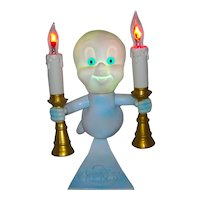 Vintage 1996 Casper The Friendly Ghost Children's Bed Table Night Light