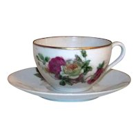 Vintage Occupied Japan Porcelain Tea Cup Set