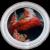 Vintage 1993 Coca-Cola Company Santa Claus Image Glass Holliday Serving Tray