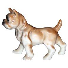 Vintage 1921-1941Era Porcelain Boxer Dog Figurine