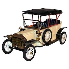 Vintage Kraftoy Company Scale Model Ford Model T Battery Operated Action Toy