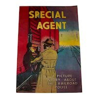 Vintage 1959 Issue #1 Special Agent; The Story of The Railroad Police