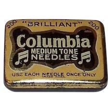 Vintage Columbia Medium Tone Gramophone Needles