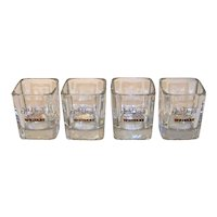 Vintage 1980  Jack Daniels Whiskey Glassware Set
