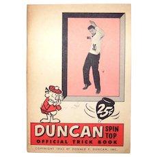 Vintage 1963 Duncan Yo-Yo Tricks Handbook