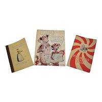 Vintage 1920's-1940's Assorted Food Brand Company Cookbooks