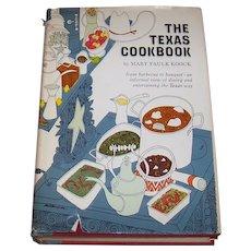 Vintage 1965 Hardback Cookbook Entitled The Texas Cookbook