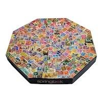 Vintage 1973 Springbok Postage Paid Octagonal Puzzle