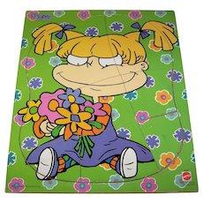 Vintage 1998 Mattel Toys Rugrats Angelica Children's Jigsaw Puzzle