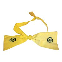 Vintage 1963-1966 Girl Scout Junior Yellow Uniform Tie