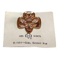 Vintage 1960's Girl Scouts 9-101 Logo Pin