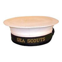 Vintage British Sea Scouts Uniform Hat
