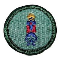 Vintage 1963-1980 Girl Scouts Sash Circle Patch