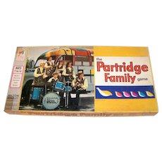Vintage 1971 Milton Bradley Partridge Family Board Game