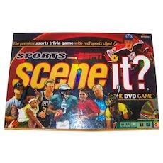 Vintage Milton Bradley ESPN Scene It? Video Game
