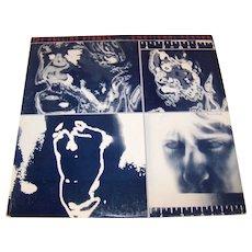 Vintage 1980 Rolling Stones Vinyl Record Album Titled Emotional Rescue