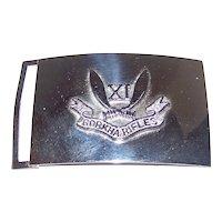 Vintage Gorkha 11th Rifles Regiment Belt Buckle