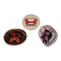 Vintage 1970's Assorted Embroidered Racing Patches