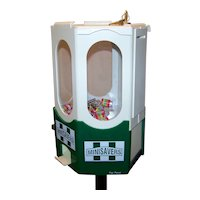 Vintage 1970's Mini Lifesavers Candy Coin Operated Vending Machine