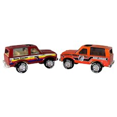 Vintage 1980 Nylint Ford Bronco Bass Chaser Toy Trucks