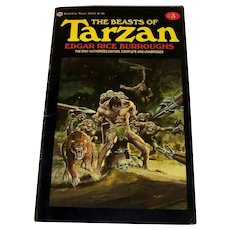 Vintage Edgar Rice Burroughs Paperback Book Titled The Return Of Tarzan #2
