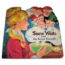 Vintage 1949 First Edition Snow White & The Seven Dwarfs