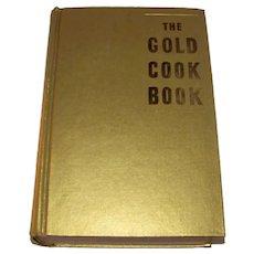 Vintage 1950  Hardback Cookbook Titled The Gold Cook Book