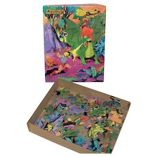 Vintage Mattel 1984 Masters Of The Universe Jigsaw Puzzle