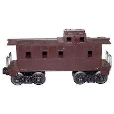 Vintage Post-War Lionel 1959-1960 Unmarked Train Caboose Model #6047 Brown Variant