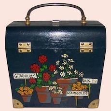 Vintage Signed Caro Nan Cricket Box Purse
