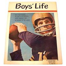 Vintage 1963 Boys Life Magazine Featuring Roger Staubach