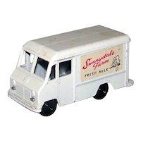 Vintage 1960 Tootsietoy Sunnyvale Farm Panel Milk Truck