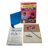 Vintage 1965 DB Industries Reflect-O-Graf Drawing Set