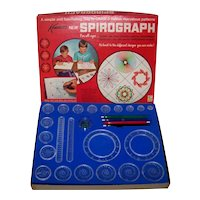 Vintage 1967 Kenner Toys Spirograph Toy Set
