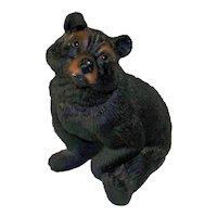 Vintage 1960's Yellowstone Park Black Bear Souvenir